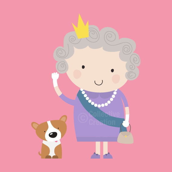 Queen of england clipart vector freeuse download Queen of england clipart - ClipartFest vector freeuse download