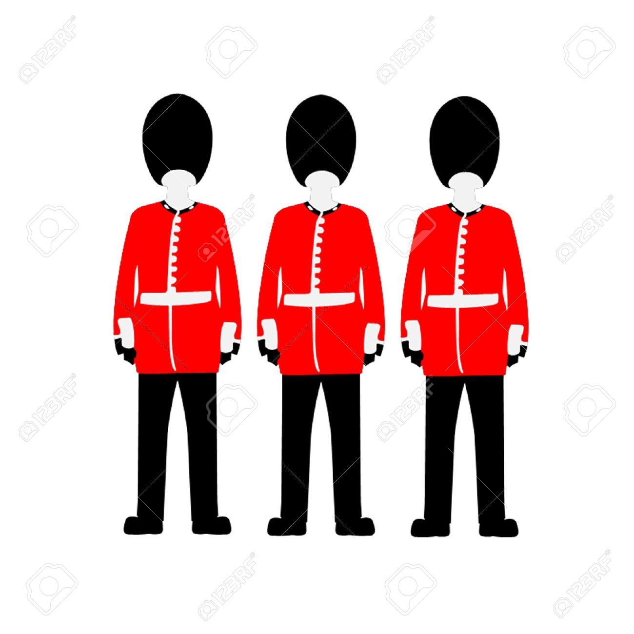 Queen of england clipart image free library Queen S Guard Royalty Free Cliparts, Vectors, And Stock ... image free library