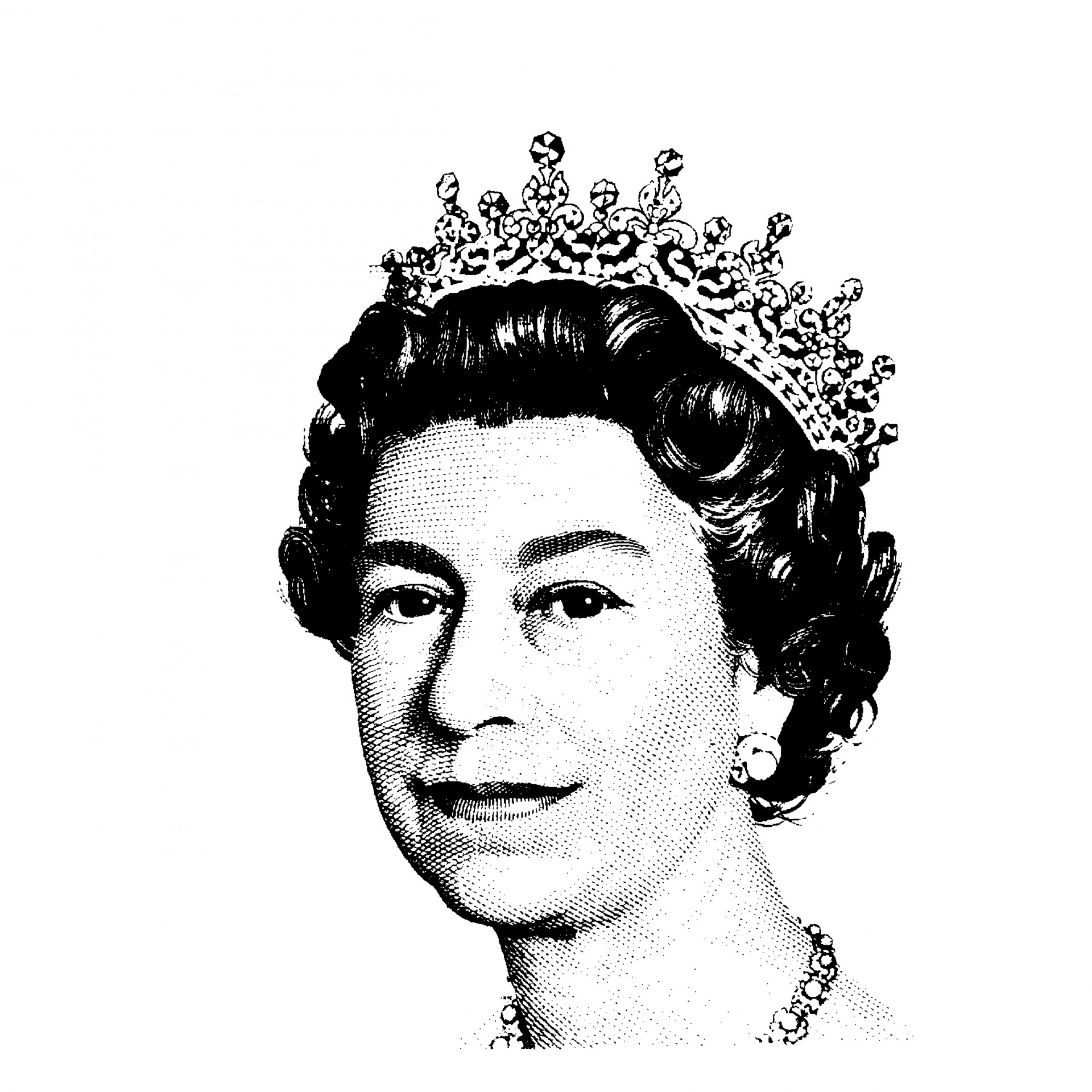 Queen of england clipart clip art free library Queen Elizabeth II Clipart Free Stock Photo - Public Domain Pictures clip art free library