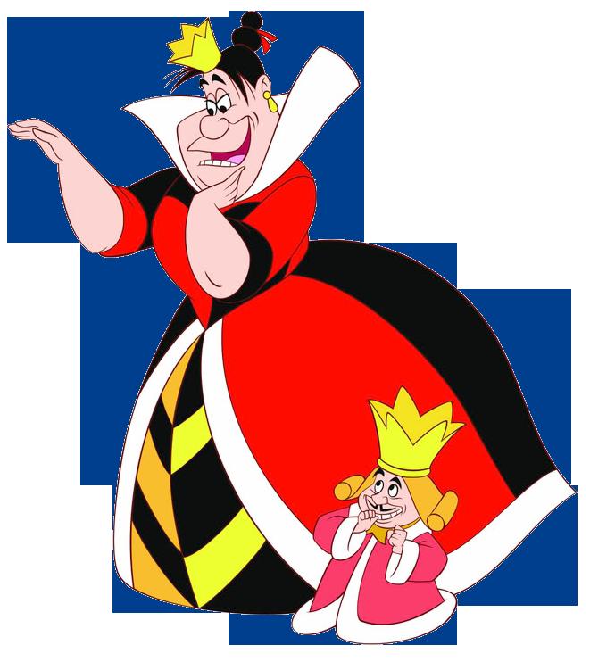 Queen of hearts alice in wonderland clipart jpg free download Queen & King of Hearts Clipart | Wedding shower ideas in ... jpg free download
