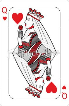 Queen of hearts arrow clipart clip free download Queen Of Spades draw and write the story of ma pinching, nkaren ... clip free download