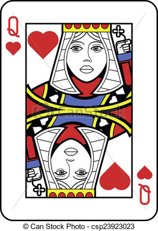 Queen of hearts card clipart image freeuse library Queen of hearts card clipart - ClipartFest image freeuse library