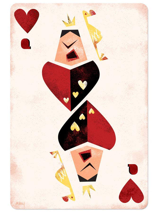 Queen of hearts card clipart clip art free stock Queen of hearts playing card clipart - ClipartFest clip art free stock