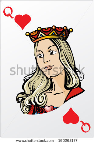 Queen of hearts card clipart banner free download Queen Of Hearts Stock Images, Royalty-Free Images & Vectors ... banner free download