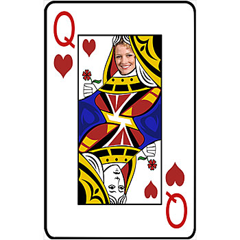 Queen of hearts card clipart png free library Queen Of Hearts Clipart - Clipart Kid png free library