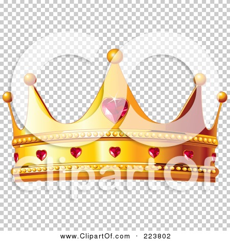 Queen of hearts clipart with no background clipart Royalty-Free (RF) Clipart Illustration of a Golden Queen Crown ... clipart