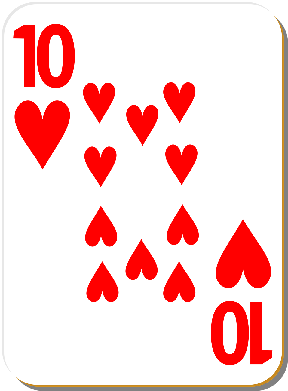Queen of hearts clipart with no background png transparent stock Heart Playing Cards Clipart - Clipart Kid png transparent stock