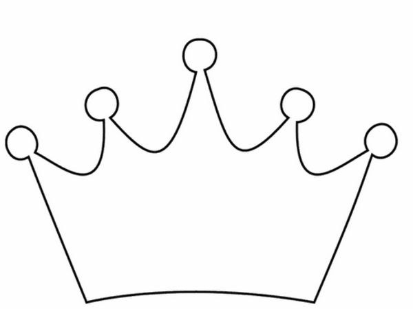 Queen of hearts crown clipart picture royalty free 17 Best ideas about Crown Template on Pinterest | Templates, Crown ... picture royalty free