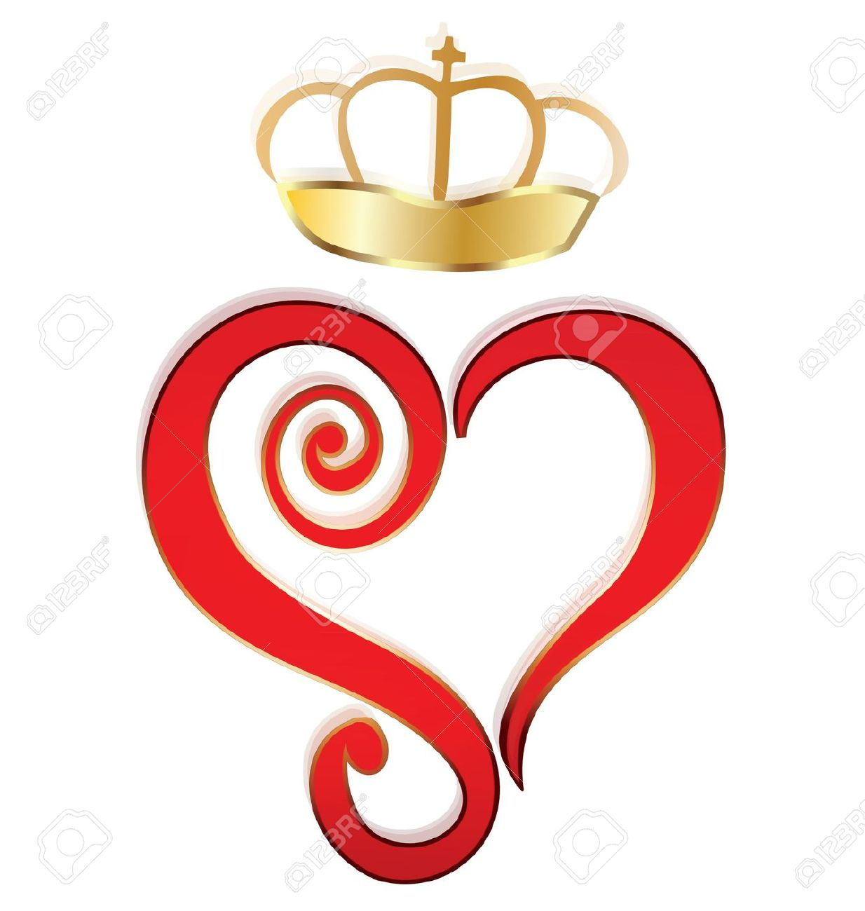 Queen of hearts crown clipart graphic library library Queen of hearts crown clipart - ClipartFest graphic library library