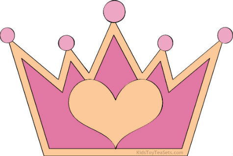 Queen of hearts crown clipart image black and white library Heart crown clipart - ClipartFest image black and white library