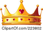 Queen of hearts crown clipart png royalty free stock Royalty-Free (RF) Queen Crown Clipart, Illustrations, Vector ... png royalty free stock