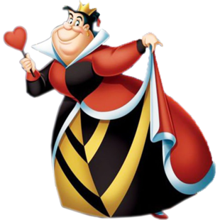 Queen of hearts crown clipart graphic transparent library Queen of Hearts (Disney) | Villains Wiki | Fandom powered by Wikia graphic transparent library