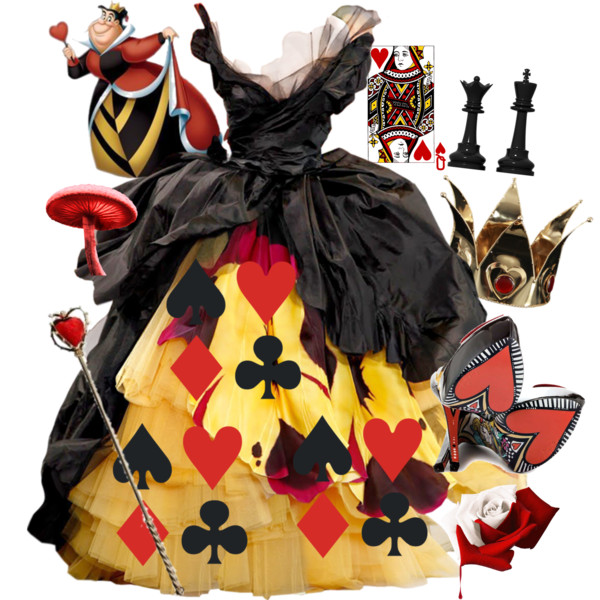 Queen of hearts disney clipart jpg free QUEEN OF HEARTS. - Polyvore jpg free
