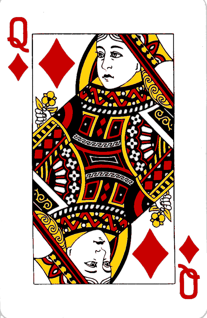 Queen of hearts playing card clipart image library stock Playing Card Pics | Free Download Clip Art | Free Clip Art | on ... image library stock