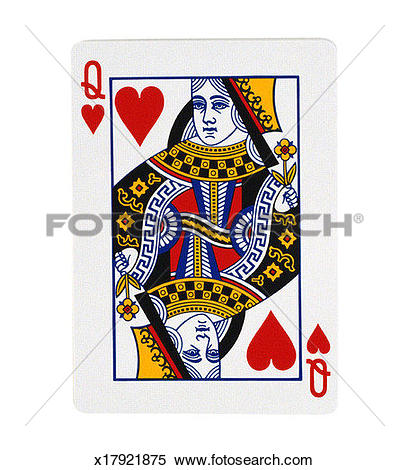 Queen of hearts playing card clipart freeuse library Stock Image of Queen of Hearts playing card x17921875 - Search ... freeuse library