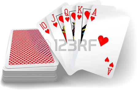 Queen of hesrts arrow clipart picture library 544 Queen Of Hearts Playing Card Stock Vector Illustration And ... picture library