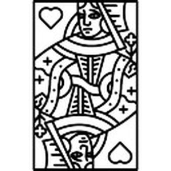 Queen of hesrts arrow clipart vector black and white download Queen Of Hearts Vectors, Photos and PSD files | Free Download vector black and white download