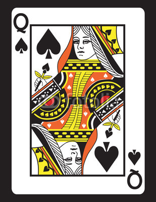 Queen of spades clipart jpg royalty free stock queen-of-spades-clipart-1 - Paradise Point Bowls jpg royalty free stock