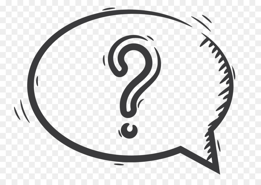 Question thought bubble clipart black and white picture transparent download Balloon Black And White png download - 2235*1558 - Free ... picture transparent download