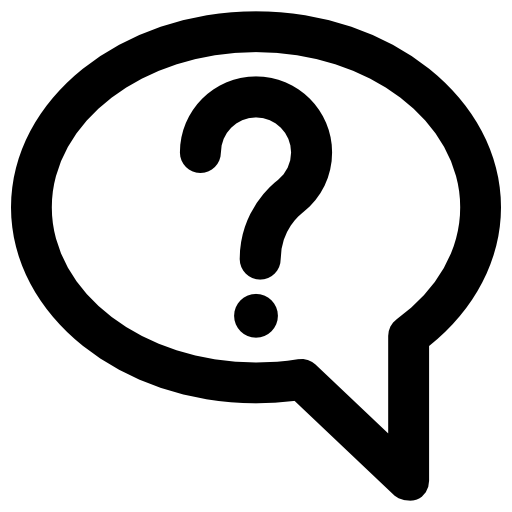 Question thought bubble clipart black and white banner freeuse download Speech bubble Icons | Free Download banner freeuse download