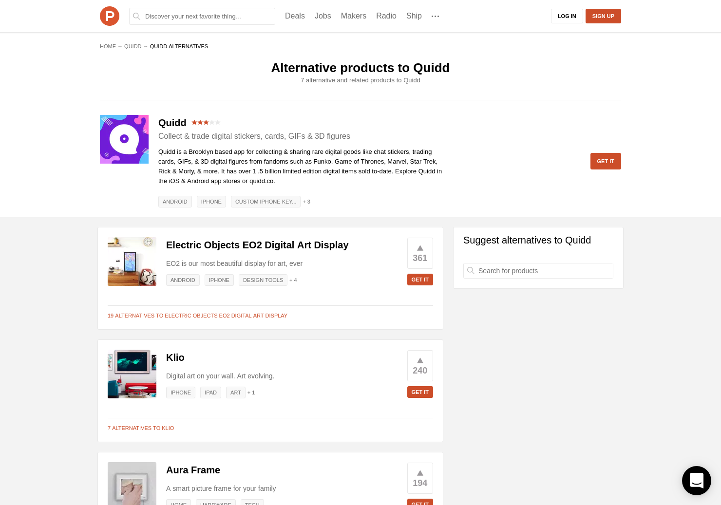 Quidd item cliparts jpg free 7 Alternatives to Quidd for Android, iPhone   Product Hunt jpg free
