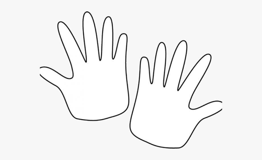 Pair of hands clipart image royalty free Pair Clipart Quiet Hand - Black And White Hands #474814 ... image royalty free