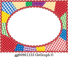 Quilt clipart borders clipart royalty free stock Quilt Clip Art - Royalty Free - GoGraph clipart royalty free stock
