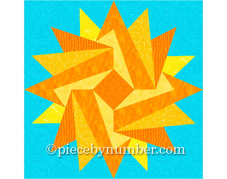 Quilting star patterns clipart clip Indian Summer paper piecing quilt pattern paper pieced quilt clip