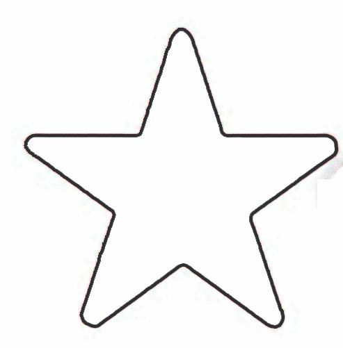 Quilting star patterns clipart jpg black and white 17 Best ideas about Star Template on Pinterest | Starfish template ... jpg black and white