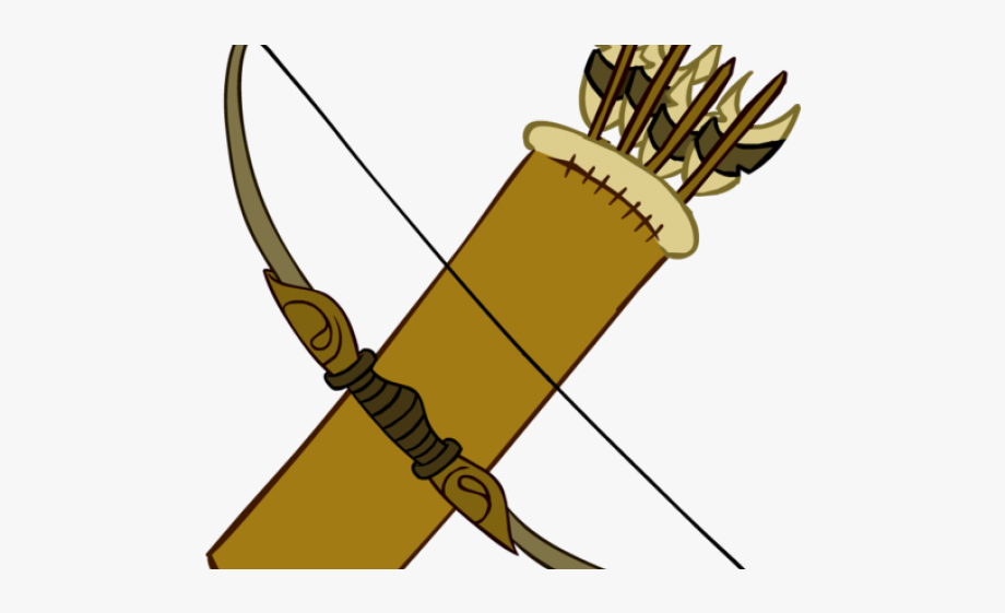 Quiver clipart jpg free library Hawkeye Clipart Quiver Arrow - Bow And Arrows Png, Cliparts ... jpg free library