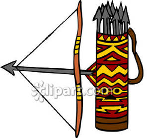 Quiver clipart jpg library library The Bow and Quiver of Sagittarius - Royalty Free Clipart Picture jpg library library