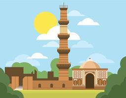 Qutab minar clipart freeuse stock Qutub Minar Free Vector Art - (32 Free Downloads) freeuse stock