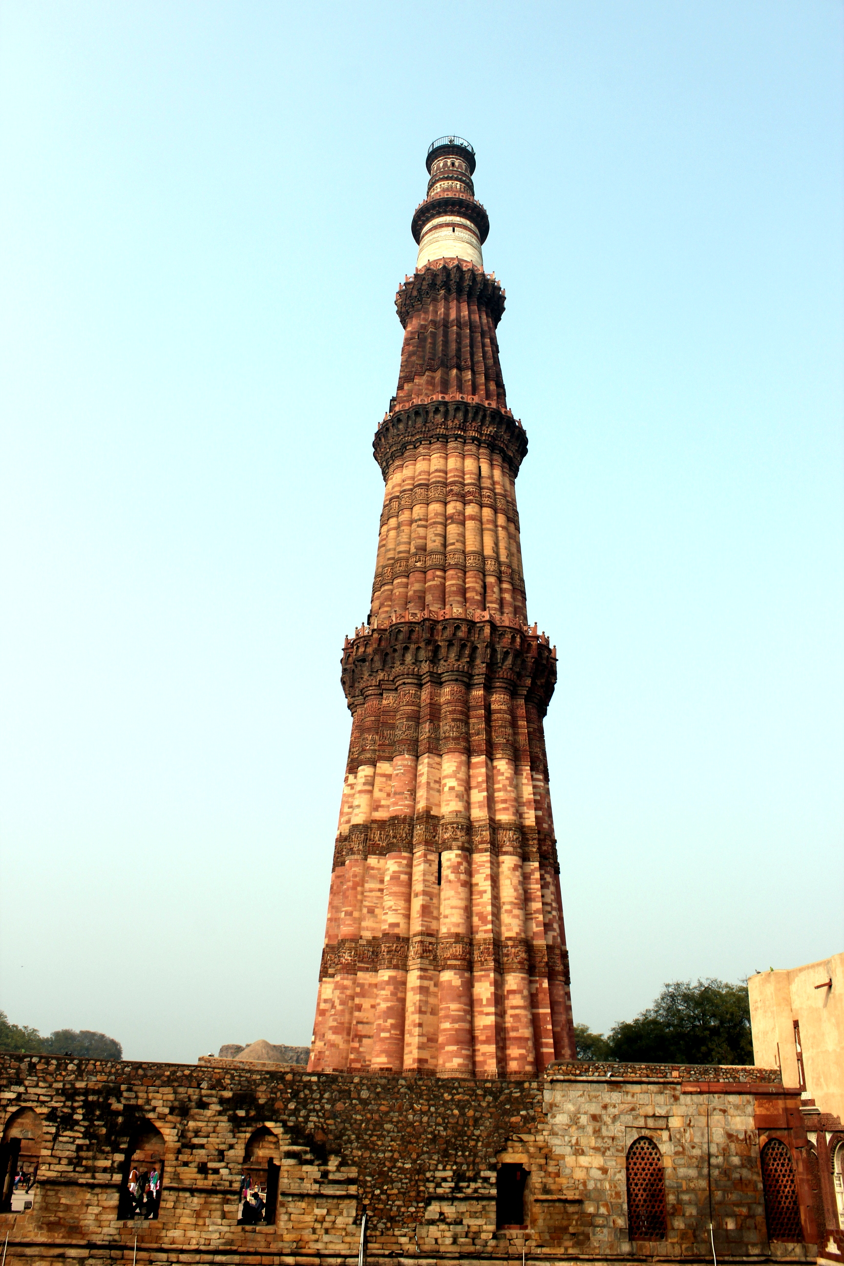 Qutab minar clipart image stock Qutub Minar – Incognito image stock