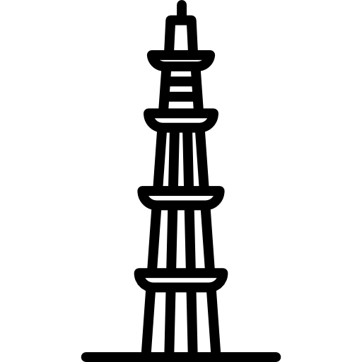 Qutab minar clipart vector royalty free stock Qutub minar Icons | Free Download vector royalty free stock