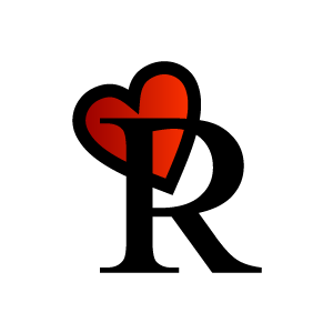 R design clipart jpg free Graphic Design of Heart Clipart - Red Alphabet R with White ... jpg free