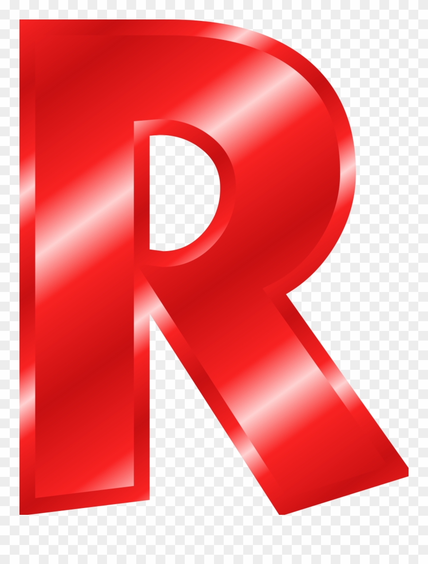 R design clipart jpg transparent stock Letter R Color Red Clipart (#1696756) - PinClipart jpg transparent stock