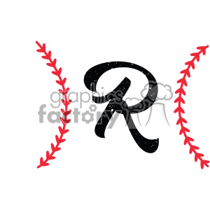 R design clipart clip art free download baseball monogram letter r design svg cut file vector clipart. Royalty-free  clipart # 403053 clip art free download
