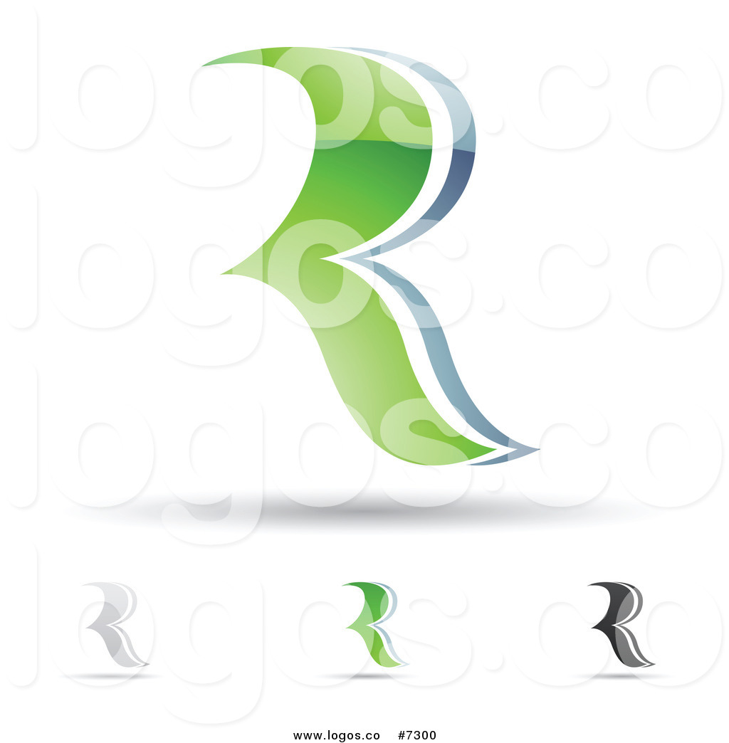 R design clipart vector royalty free stock Royalty Free Clip Art Vector Logos of Abstract Letter R ... vector royalty free stock