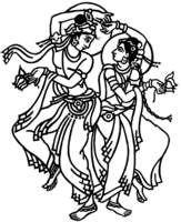Raas garba clipart banner black and white download Raas Garba Ceremony Symbols | Hindu Wedding Symbols | Muslim ... banner black and white download