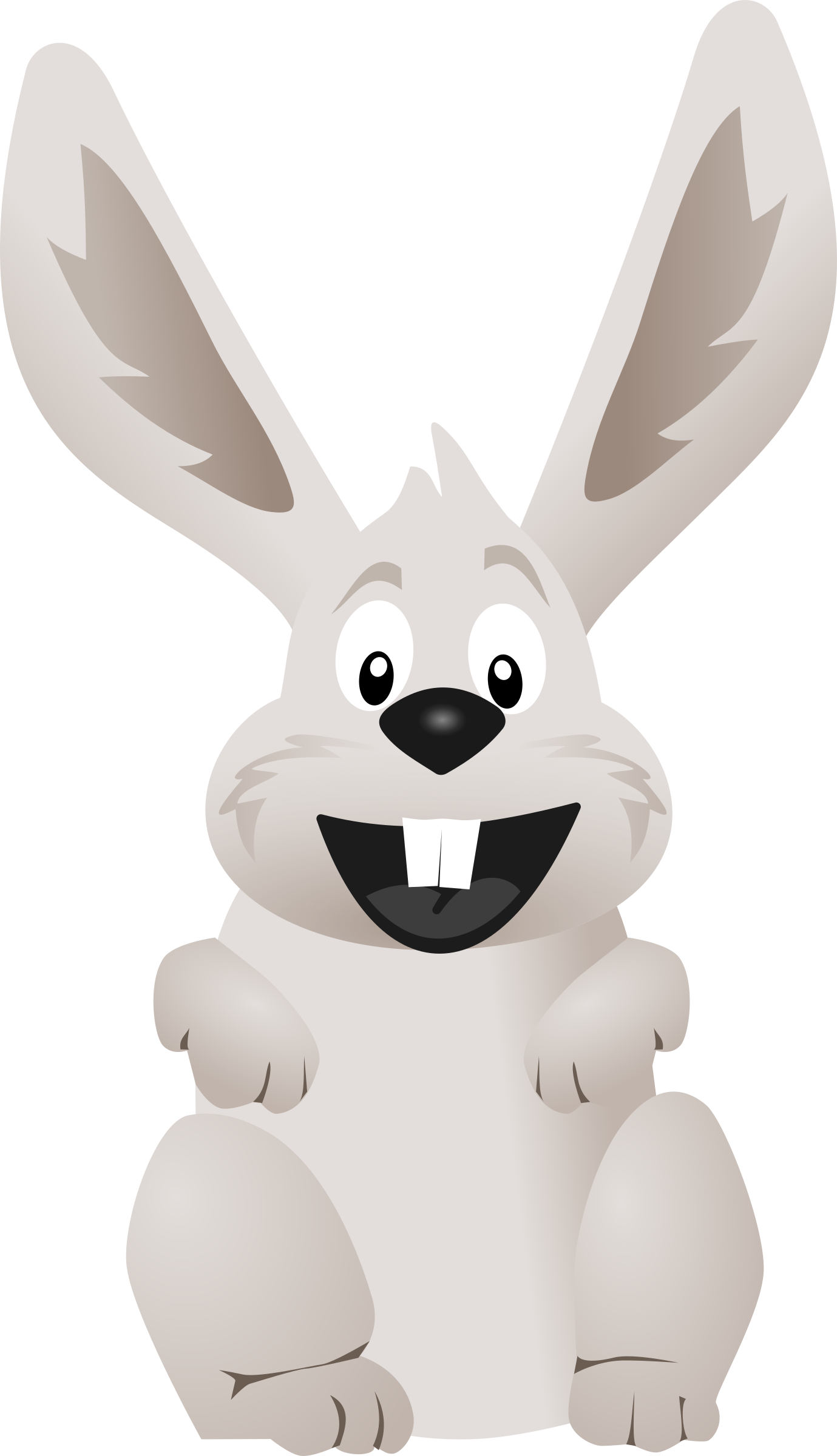 Rabbit with an apple clipart png free library funny Rabbit Icons PNG - Free PNG and Icons Downloads png free library