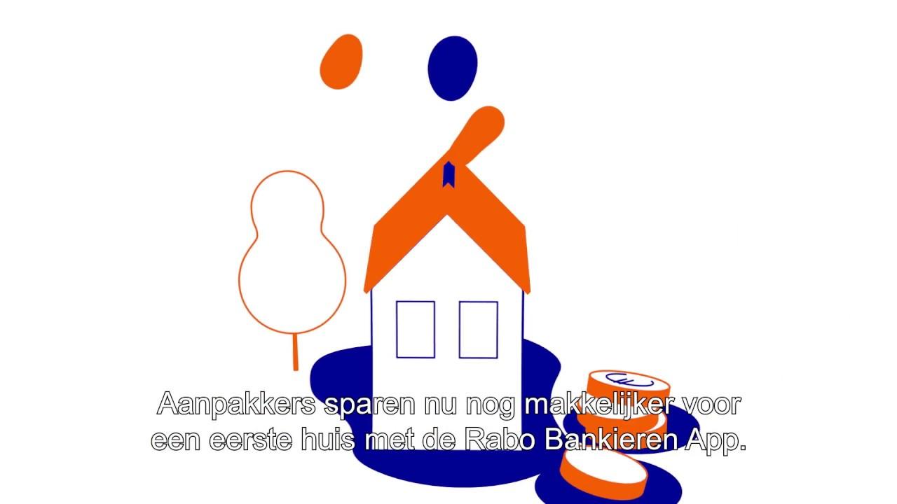 Rabobank logo clipart banner transparent library Aanpakkers 'Menno en Jasper' sparen voor een eigen huis banner transparent library
