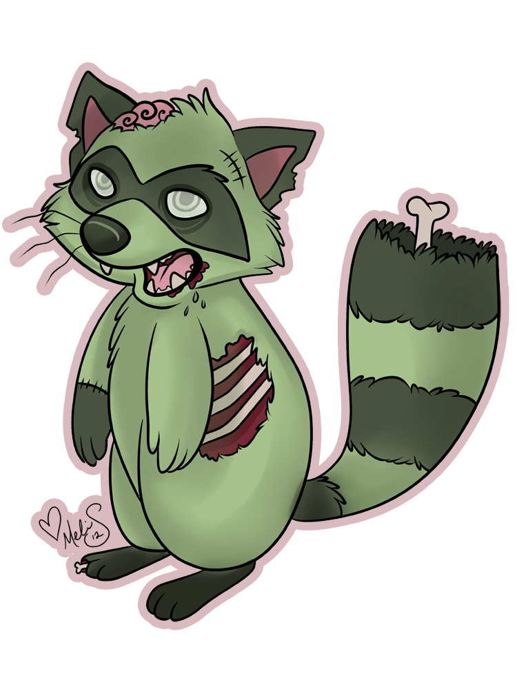 Zombie cat clipart image library stock Gallery For > Zombie Animal Drawings | Arts | Pinterest | Raccoons ... image library stock