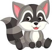 Raccoons clipart clipart transparent stock Raccoons clipart 1 » Clipart Portal clipart transparent stock