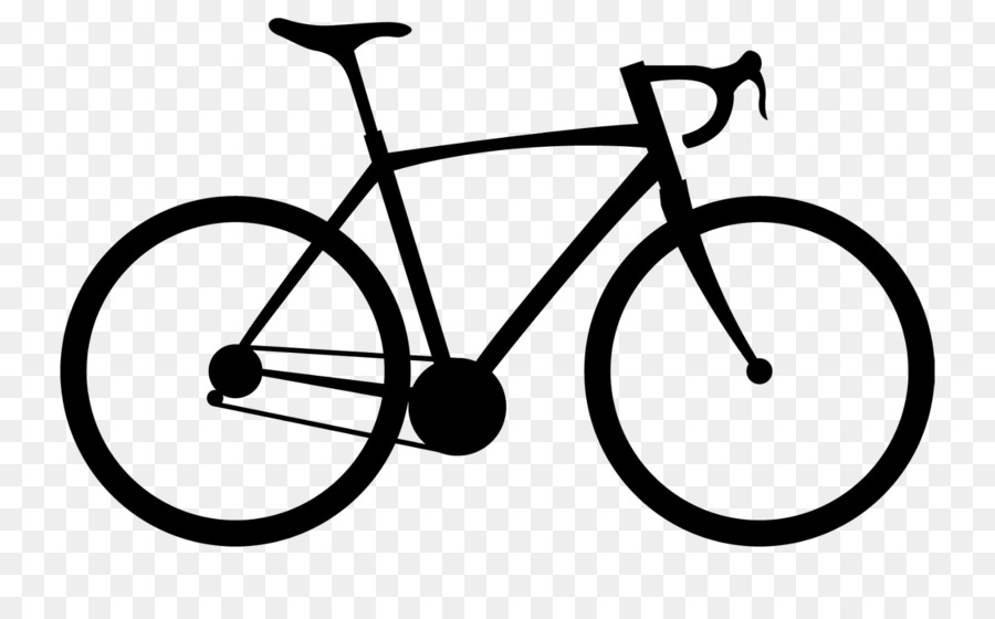 Race bike clipart clipart stock Black And White Frame clipart - Bicycle, Cycling, Circle ... clipart stock