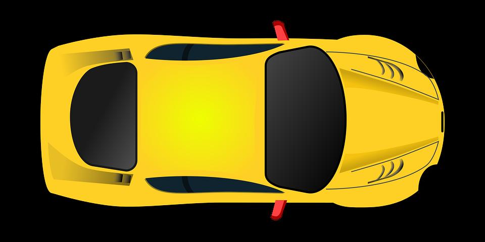Sports car Clip art - Yellow toy model sports car 960*480 transprent ... jpg library stock