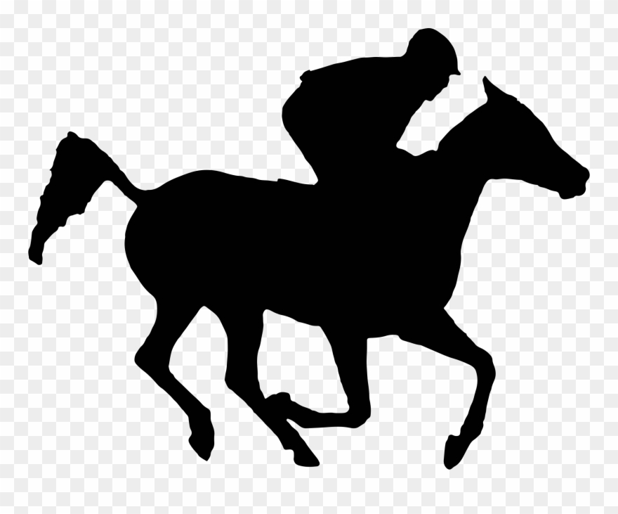 Exciting Race Horse Silhouette Clipart Arabian Racehorse ... graphic library download