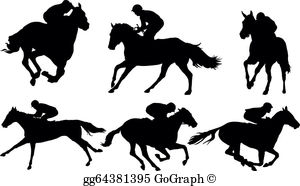 Race Horse Clip Art - Royalty Free - GoGraph banner library stock