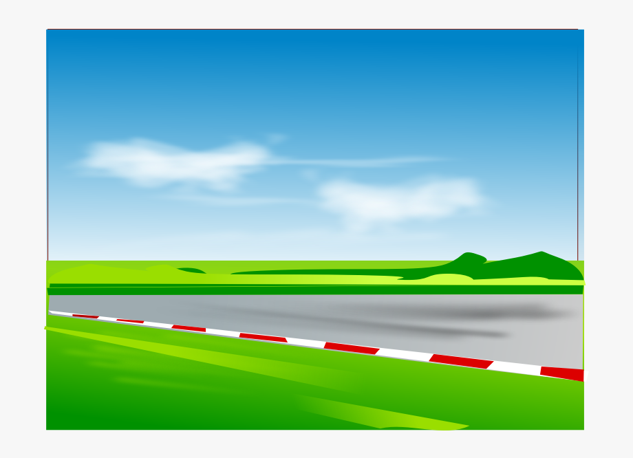 Racing Tire Clipart Race Track Road Images - Racetrack ... graphic free library