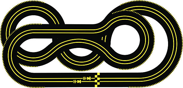 Racer Clipart Race Track Road Pencil And In Color Racer ... vector royalty free download