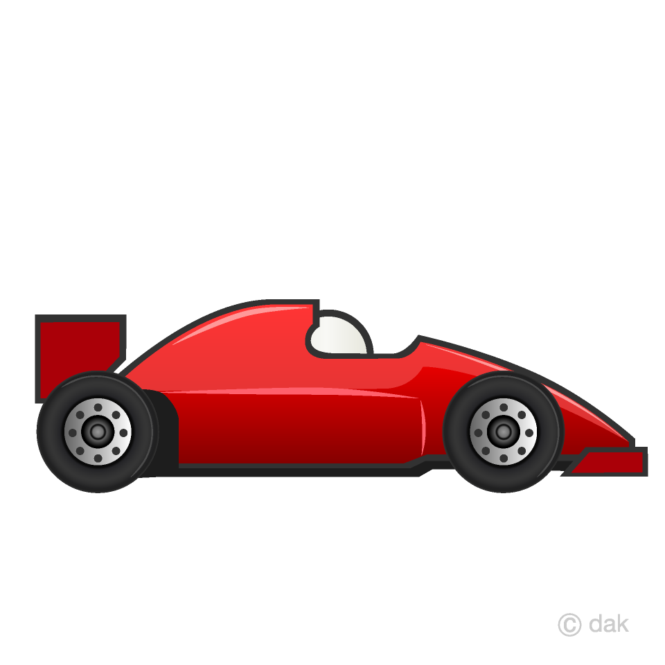 Racecare clipart clip royalty free library Red Racing Car Clipart Free Picture|Illustoon clip royalty free library
